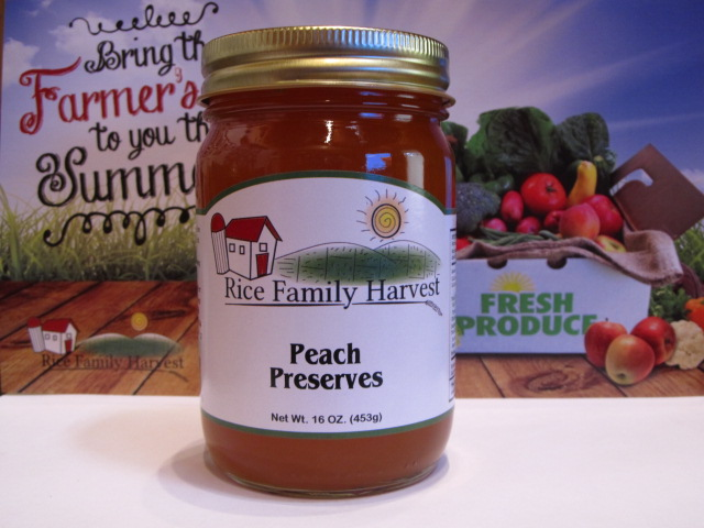 Image of Peach Preserves - Our Stuff!