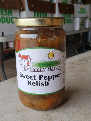Image of Sweet Pepper Relish