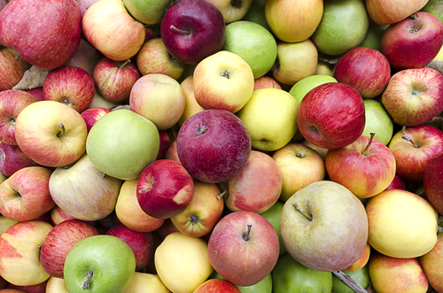 Image of 1/2 Bu mixed apples