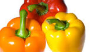 Image of Red /Yellow /Orange bell peppers